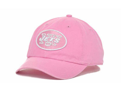385a0cfb NEW YORK JETS Women's Clean Up NFL Adjustable Strap Pink Football BCA Hat  Cap NY