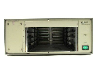 Agilent HP E1725B Time Interval Analyzer VXI Bus Mainframe
