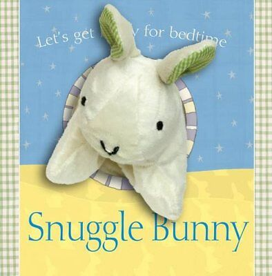 Snuggle Bunny (Puppet Book) by Jon Lambert Hardback Book The Cheap Fast Free