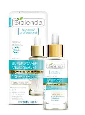 BIELENDA skin clinic professional SUPER POWER MEZO SERUM active moisturizing
