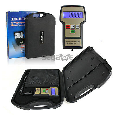 NEW Portable Digital Electronic Refrigerant Charging Scale HVAC 220LB PNG