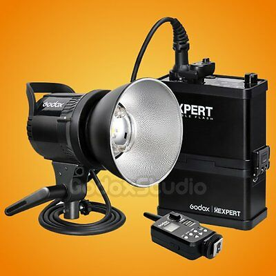 [2016 NEW VER] Godox Xexpert RS-400P Li-ion Battery Outdoor Flash Strobe Light