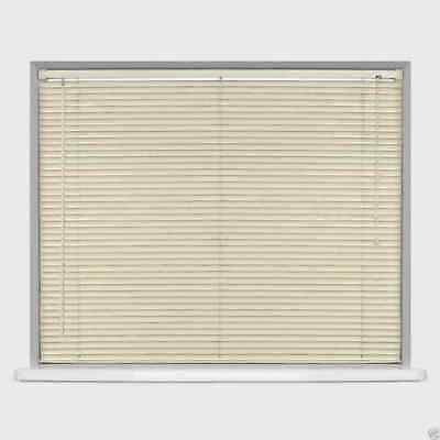 Pvc Venetian Blind Window Blinds Ivory Cream Bedroom Home Office Strong Easy Fit