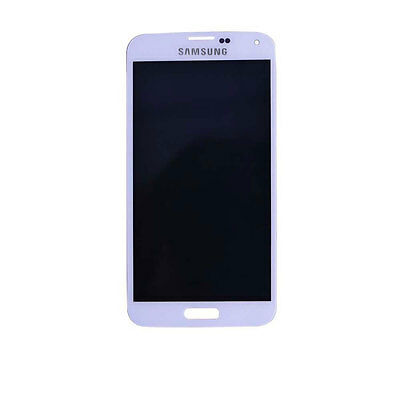 Touch Screen Digitizer + LCD Replacement for White Samsung Galaxy S5 SM-G900V
