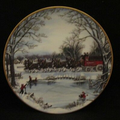 Budweiser World Famous Clydesdales An American Tradition Collector Plate