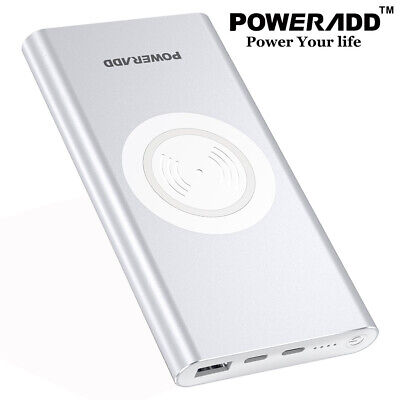10000mAh Power Bank Portable Dual USB External Battery Charger for Cellphone