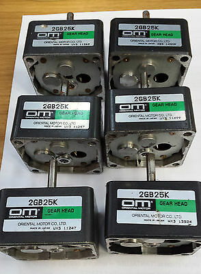 ORIENTAL MOTOR GEAR HEADS, 2GB25K (#x45)