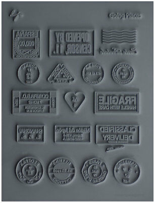 Lisa Pavelka Texture Stamp Mold Sheet Surface Imprinting Going Places Design