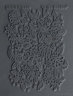 Christi Friesen Image Texture Stamp Mold Sheet Surface Imprinting In The Meadow