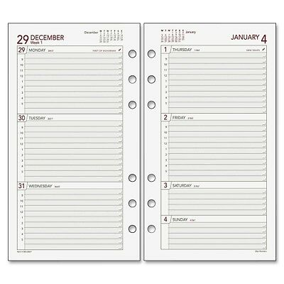 """2015 Day Runner Express Planning Page - Weekly - 3.75"""" x 6.75"""" - DRN063285Y"""