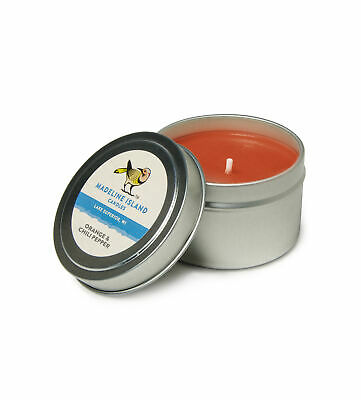 Orange /& Chili Pepper Scented Soy Tealight Candles Handmade in the USA.