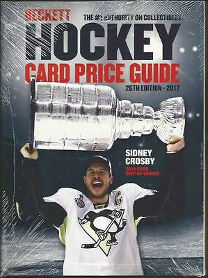 2017 Beckett Hockey Card Annual Price Guide - 26th Edition - $34.95 SRP