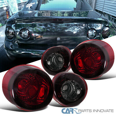 Chevy 05-10 Cobalt 2Dr Coupe Replacement Tail Lights Brake Stop Rear Lamps Smoke