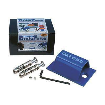 Oxford Brute Force Mini Ground Anchor - Motorcycle/Bike/Motorbike Security