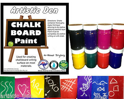 Blackboard Paint Chalkboard Paint  Coloured Chalkboard Paint