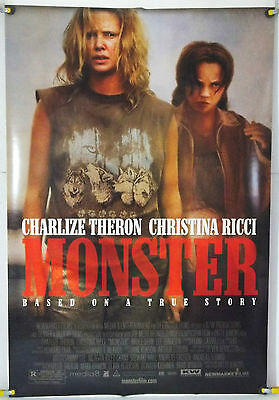 Monster Ds Rolled Orig 1Sh Movie Poster Charlize Theron Christina Ricci (2003)