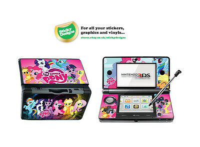 My Little Pony Vinyl Skin Sticker for Nintendo 3DS