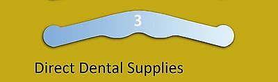 Dental Instruments,Tofflemire Type Matrix Band Stainless Steel Size 3 PKT OF 144
