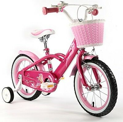 """R BABY MERMAID STYLE PRINCESS PINK GRIL'S BIKES IN SIZE 12"""" 14"""" 16"""" & 18"""""""