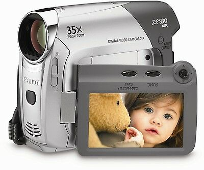 BRAND NEW ** Canon ZR 830  MiniDV Camcorder with 35x Optical Zoom + Remote