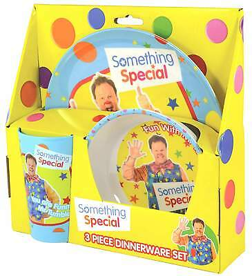 Something Special Mr Tumble 3-Piece Dinner Set | Dinnerware | CBeebies