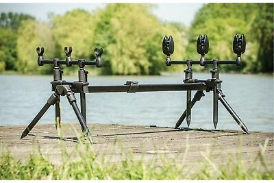 Leeda Rogue 3 in 1 Rod Pod + Carrycase (X7000) - FREE Next Working Day Delivery!