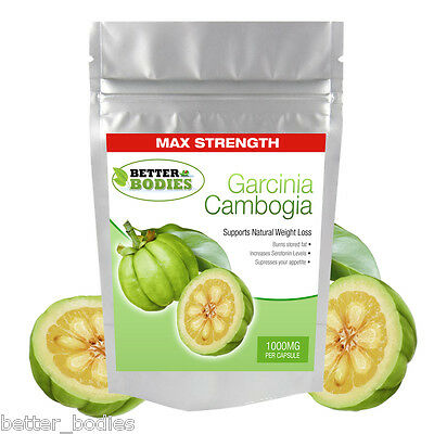 Garcinia Cambogia 1000mg Per capsule Strongest in UK Weight Loss Diet Pills