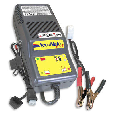 Optimate Accumate 3 - 6V / 12V Trickle Motorcycle, Car Automated Charger