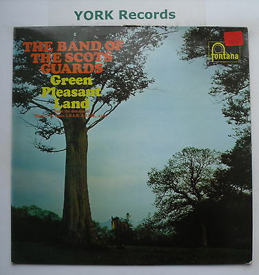 BAND OF THE SCOTS GUARDS - Green Pleasant Land - Ex LP Record Fontana 6852 007