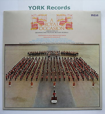 BANDS OF THE HOUSEHOLD DIVISION - A Royal Occasion - Ex LP Record RCA LSA 3226