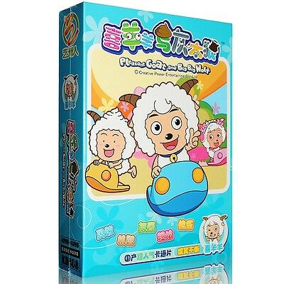 Pleasant Goat And Big Big Wolf (4DVDs, 100 Episodes) (Mandarin Chinese Edition)