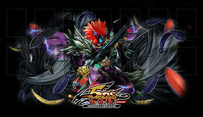 Playmat Tappetino YUGIOH - Alanera Ala Armata - Blackwing Armed Wing Magic FoW