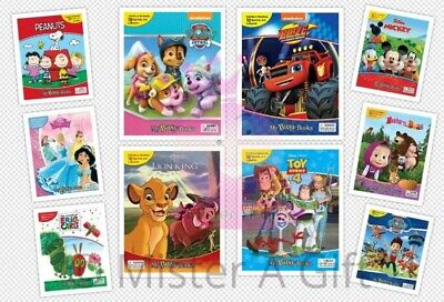 Busy Books SHIMMER AND SHINE - BLAZE - PAW PATROL - PRINCESSES & MANY MORE