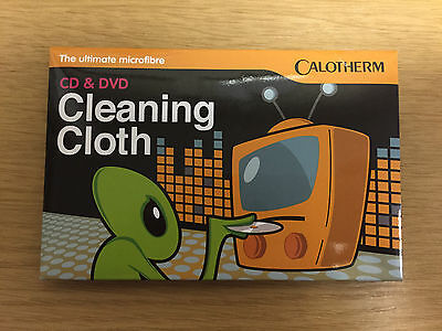 Calotherm Premium Quality Cd / Dvd  Microfibre Cleaning Cloth - Brand New