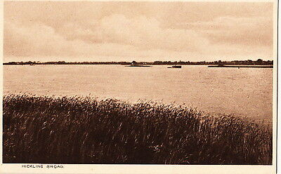 HICKLING( Norfolk):  Hickling Broad