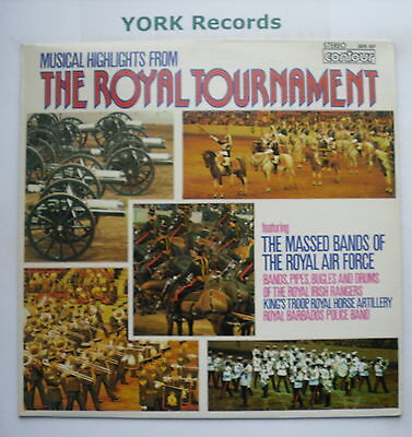 MUSICAL HIGHLIGHTS FROM THE ROYAL TOURNAMENT - Ex Con LP Record Contour 2870 357