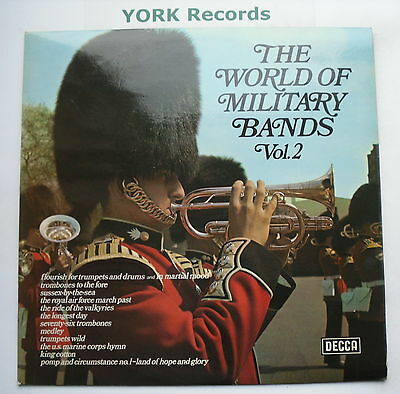 WORLD OF MILITARY BANDS VOL 2 - Excellent Condition LP Record Decca SPA 66