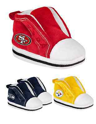 NFL Football Team Logo FC 2014 Baby High Top Boot Sneaker Slippers - 4 sizes