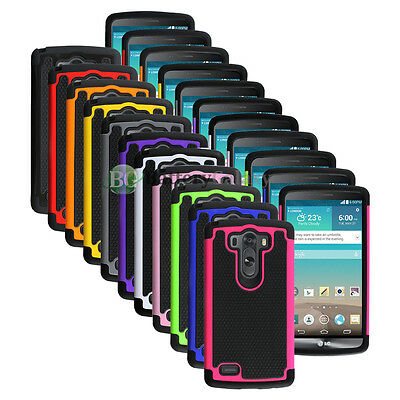 CLEARANCE Lot of 11 Hybrid Rubber Hard Case for Android Phone LG G3 100+SOLD