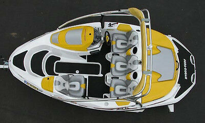 New Custom Seat Covers Upholstery for 03-06 Sea-Doo Sportster 4-Tec 2003-2006