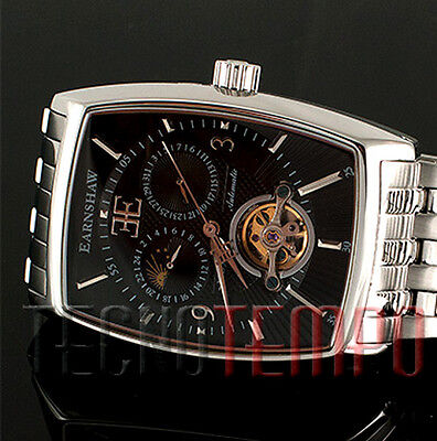 STUPENDO THOMAS EARNSHAW OROLOGIO AUTOMATICO WATCH UOMO MOON DIAL AUTOMATIC MAN