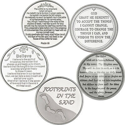 Serenity Collection--5 piece 1 oz .999 Fine Silver Rounds by SilverTowne