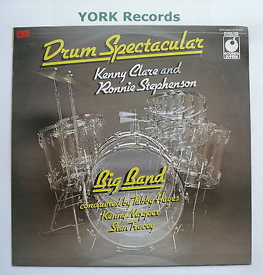 KENNY CLARE & RONNIE STEPHENSON - Drum Spectacular - Excellent Con LP Record