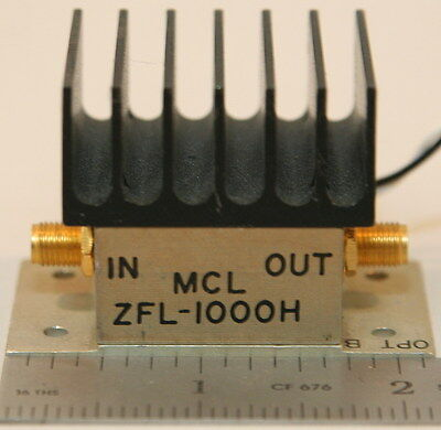 Mini-Circuits ZFL-1000H Amplifier 10 to 1000 MHz