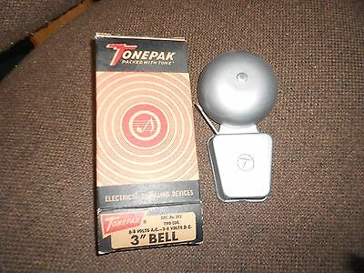 "TONEPAK 303 Signal 3"" VIBRATING BELL Fire Alarm NEW Security Protection NIB Coil"