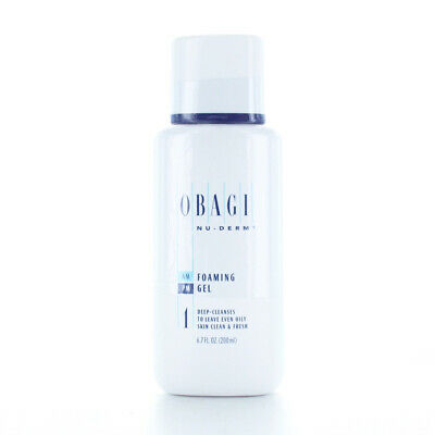 Obagi Nu-Derm Foaming Gel 6.7oz/200ml SAMEDAY SHIP