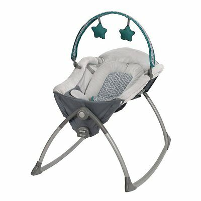 BRAND NEW! Graco Little Lounger Rocking Seat Plus Vibrating Lounger, Ardmore