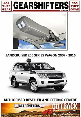 Outback Accessories Roof Consoles 4X4 Landcruiser 200 Series 2007 - 2016 Uhf
