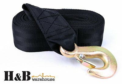 Boat Trailer Hand Winch Strap Replacement 8M x 50MM Up to 3200lbs C0011
