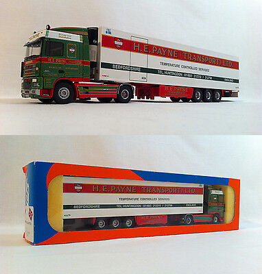 2000 Tekno H E Payne #85 DAF British Collection 1:50 Scale Boxed MIB